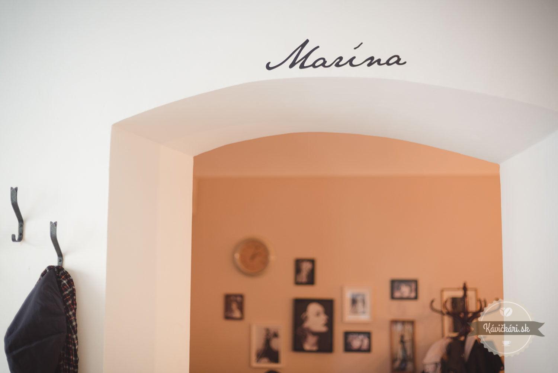 Marína kaviareň