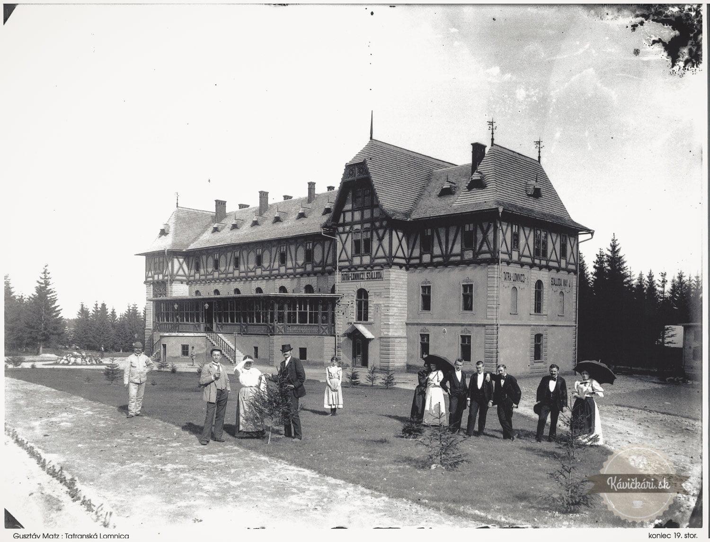 Hotel Lomnica retro