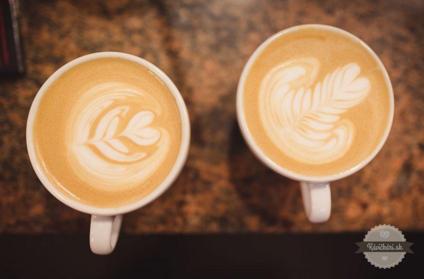 Ako na latte art?