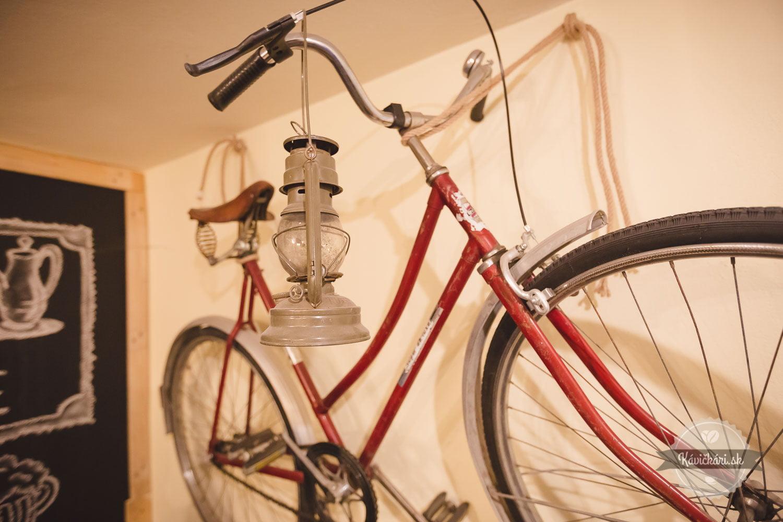 kaviareň bicykel