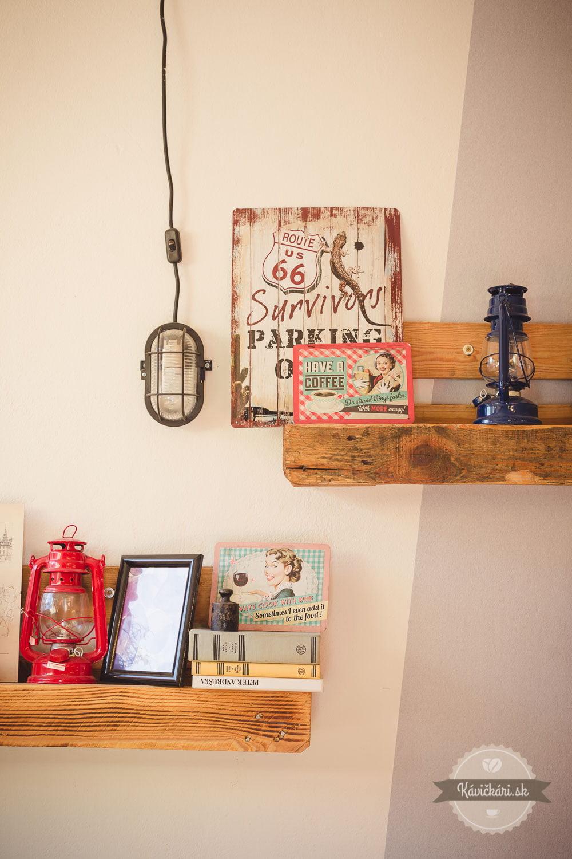 interiér kaviareň