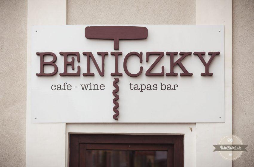 Beniczky Cafe – Wine TapasBar: V najkrajšom Bystrickom dome
