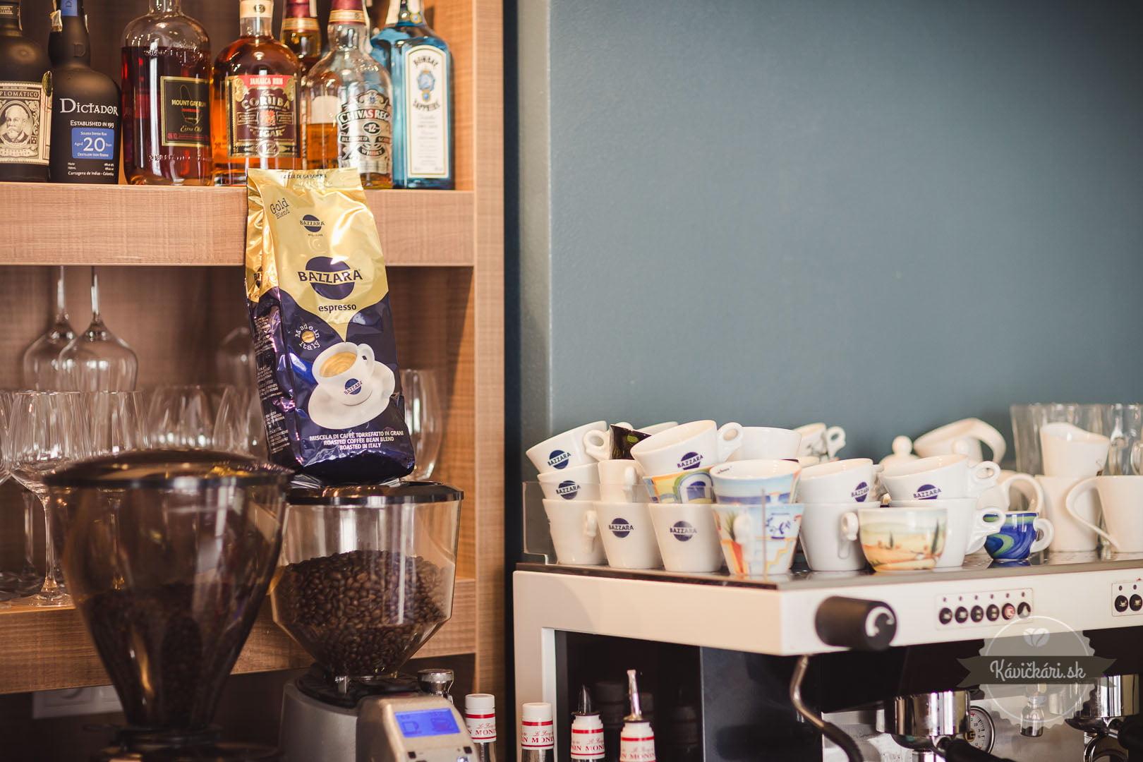 bazzara káva beniczky