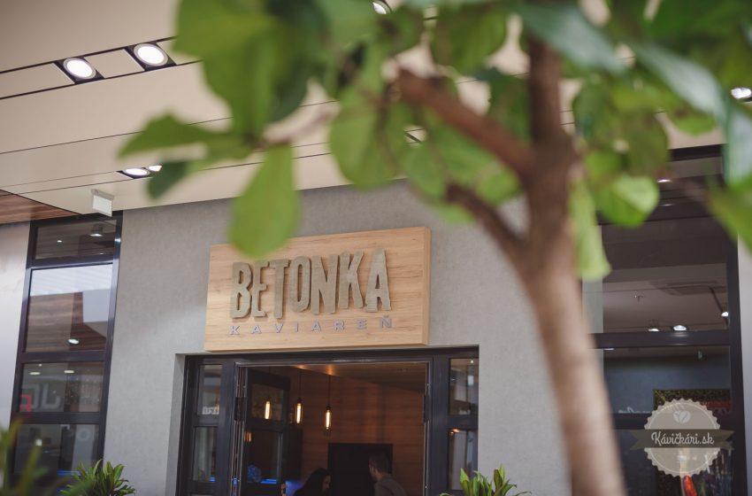Betonka kaviaren