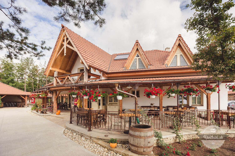 Zwicker restaurant v Prešove exterirér