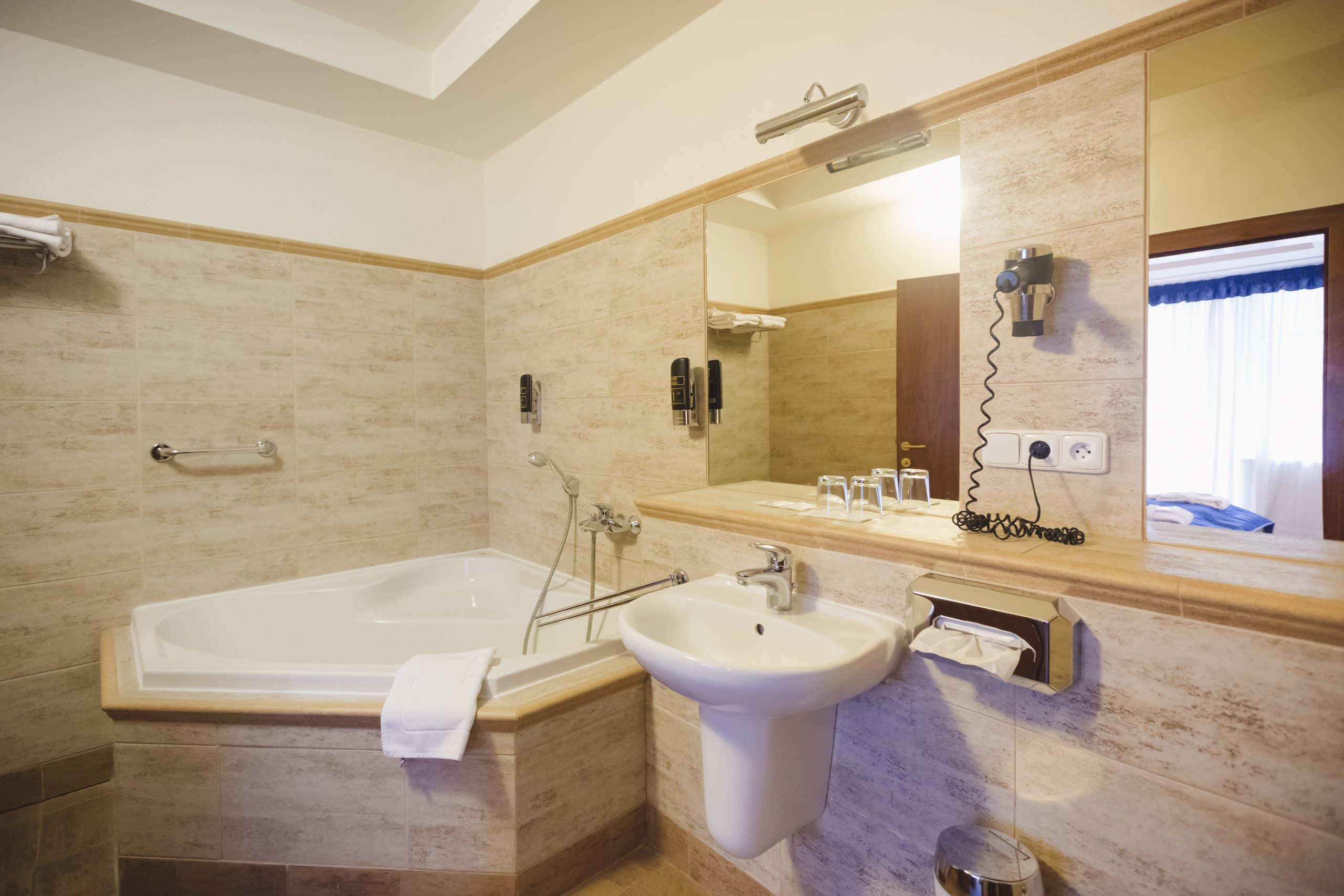 grand hotel strand kúpeľňa