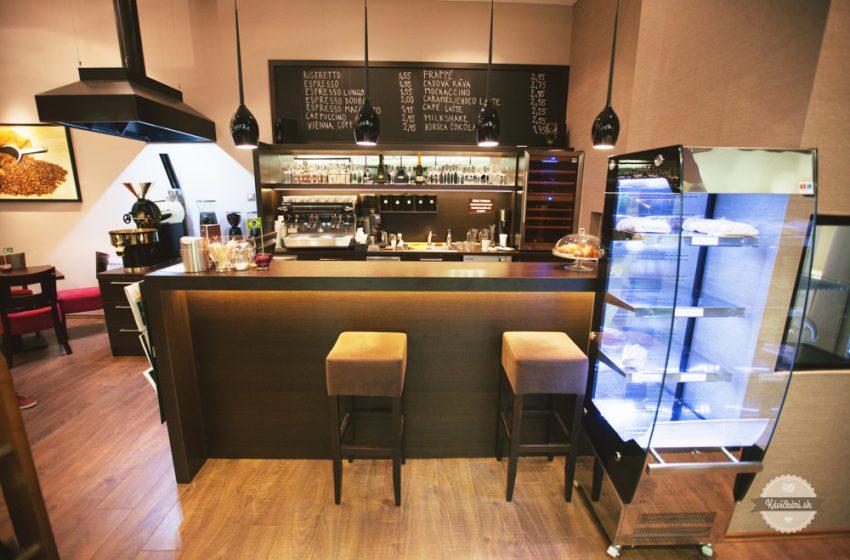 Urban Coffee v Bratislave: Prekvapenie v biznis centre