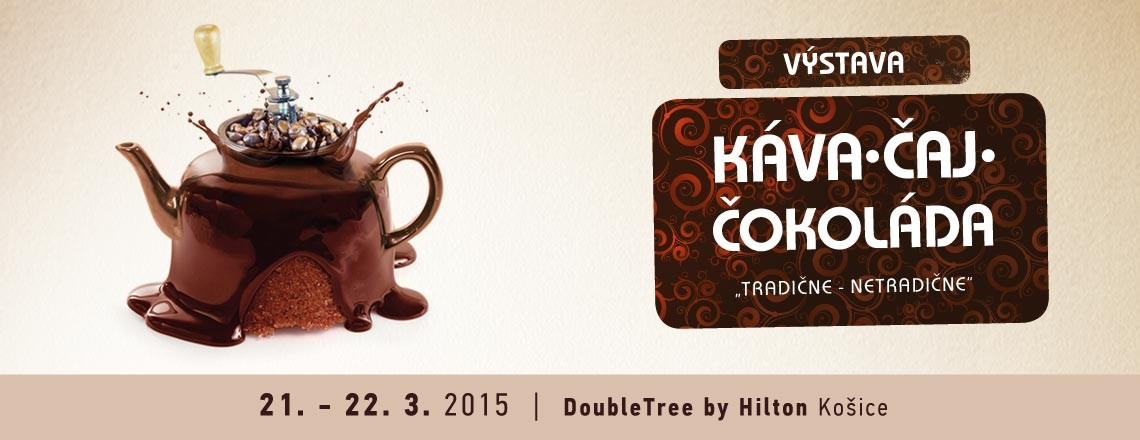 Káva čaj čokoláda výstava Košice