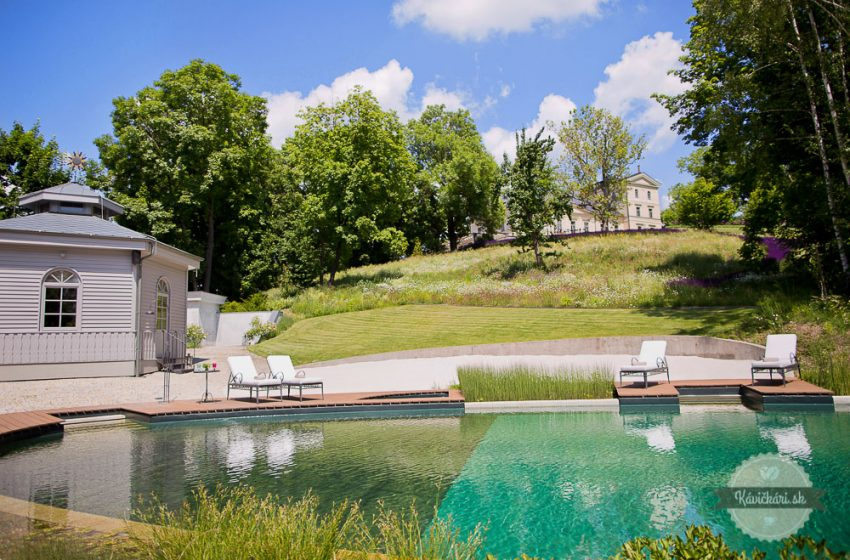 biotopické jazierko chateau mcely
