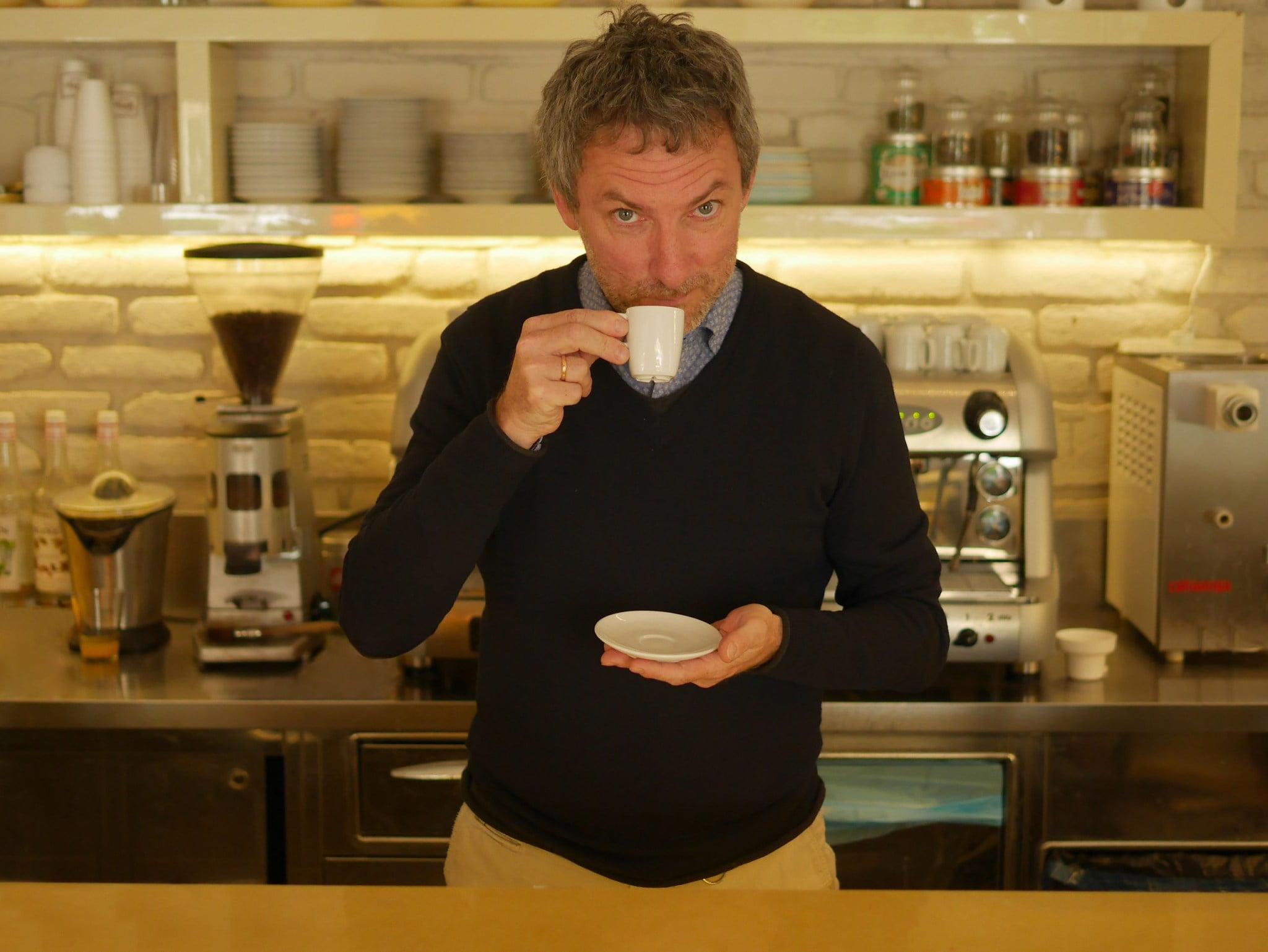majiteľ Gio Caffe v Nitre