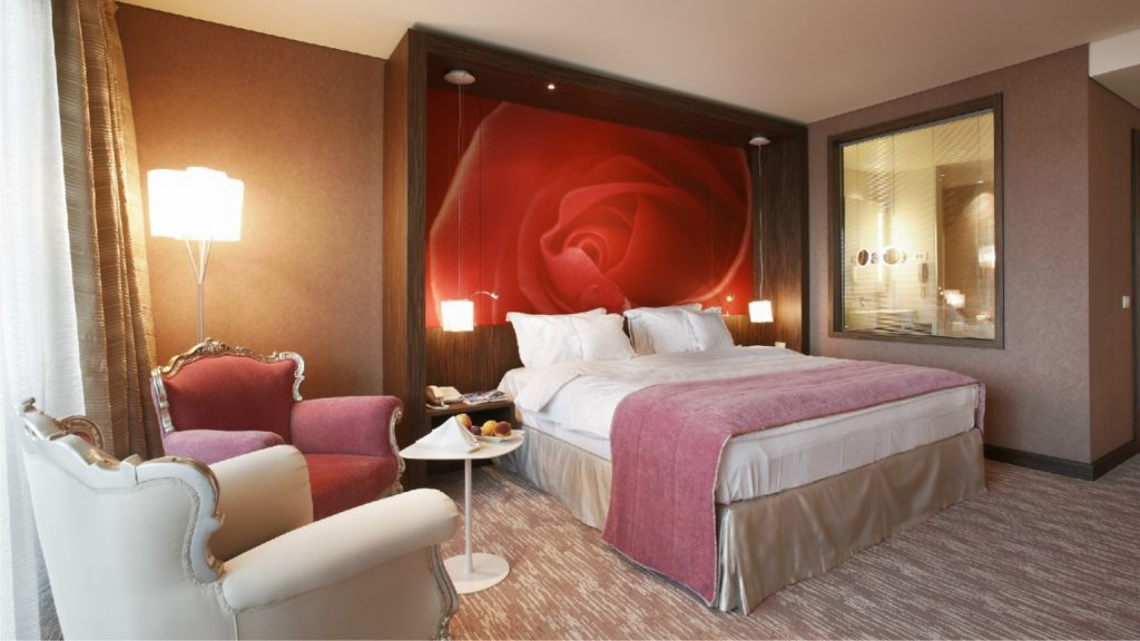 Deluxe double room modern style