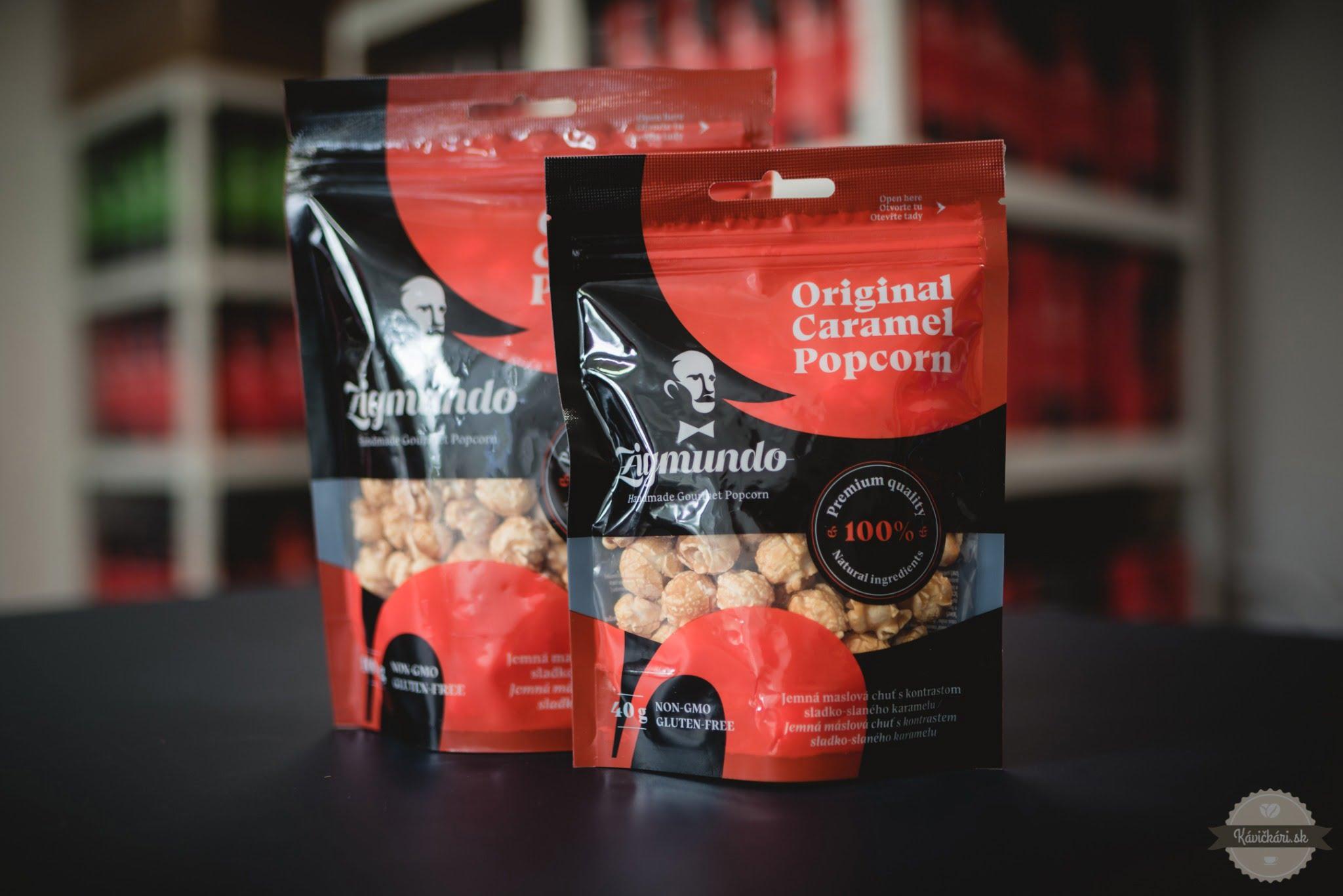 Zigmundo handmade gourmet popcorn