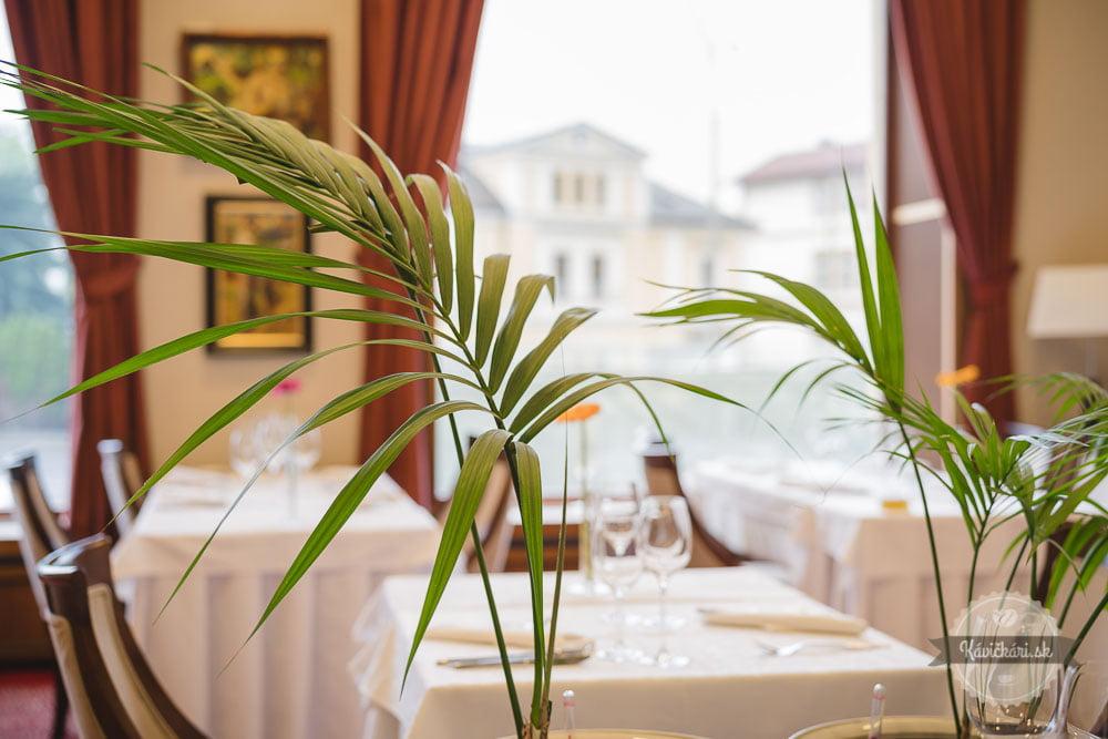 reštaurácia hotel Elizabeth