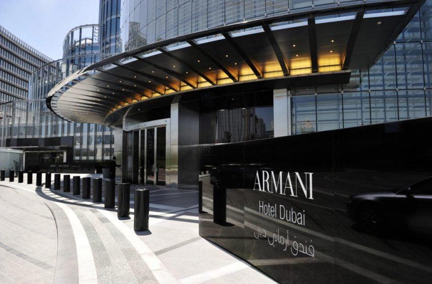 Arabský Armani hotel Dubai