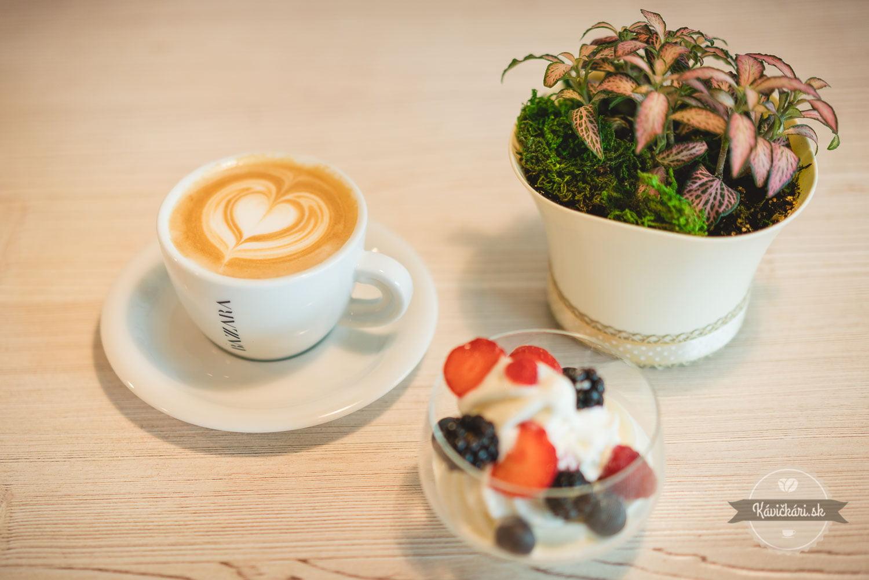 Betka´s Bakery zmrzlina a bazzara káva