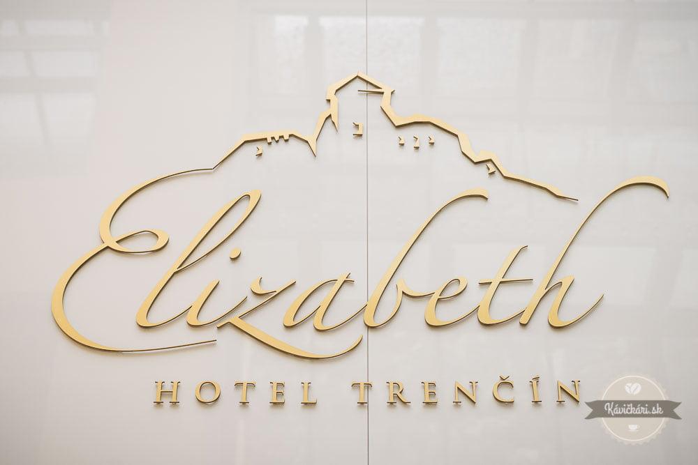 Elizabeth hotel nápis
