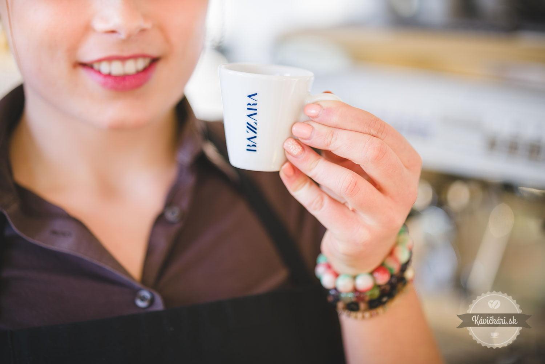 espresso bazzara nápoj