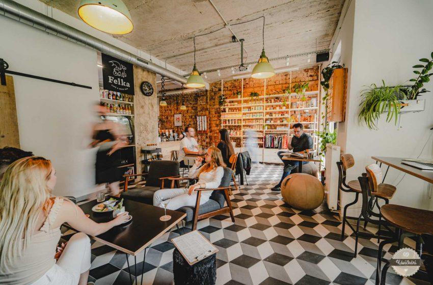 FELKA café & brew bar v Poprade: Všetko, čo robí dobrú kaviareň dobrou, vás tu obklopuje nenútene, nevtieravo, prirodzene
