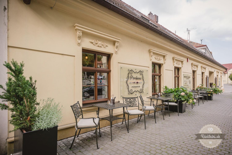 Forhaus reštaurácia Trnava