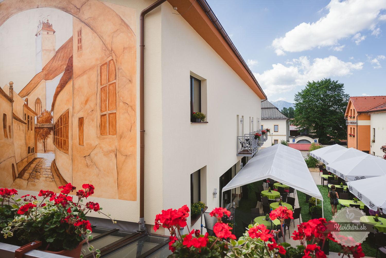 Maľba Hotel Hviezdoslav Kežmarok