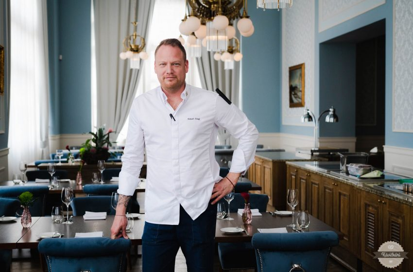 Šéfkuchár Tomáš Levý: Hotel je samostatná planéta