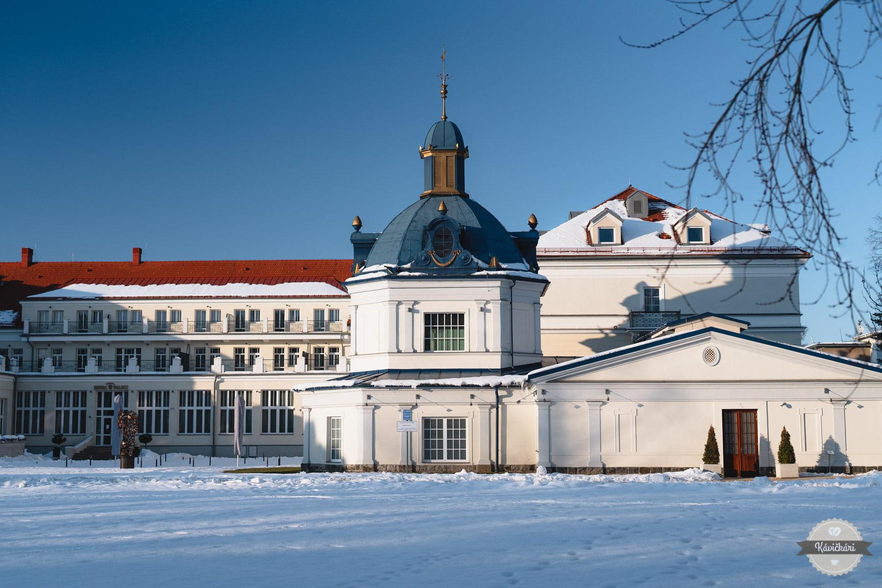 Royal Palace v Turčianskych Tepliciach