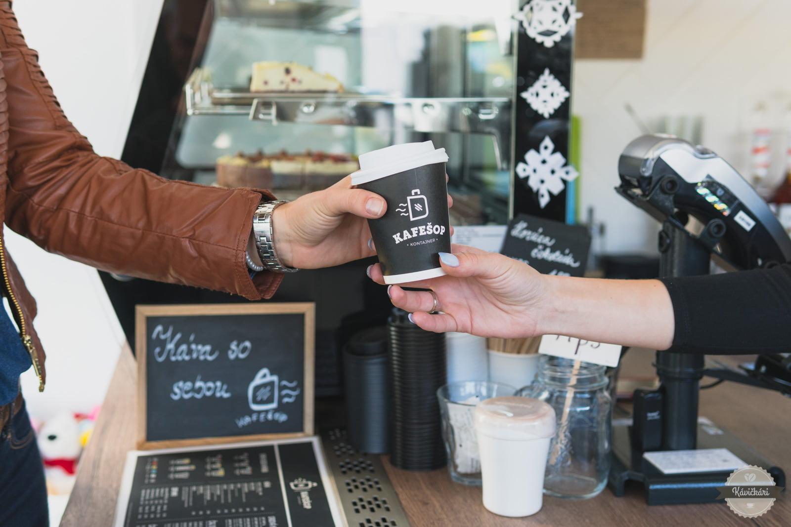 Kafešope Kontajner