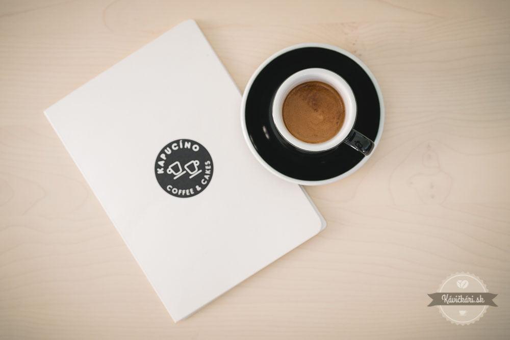 kapucino káva