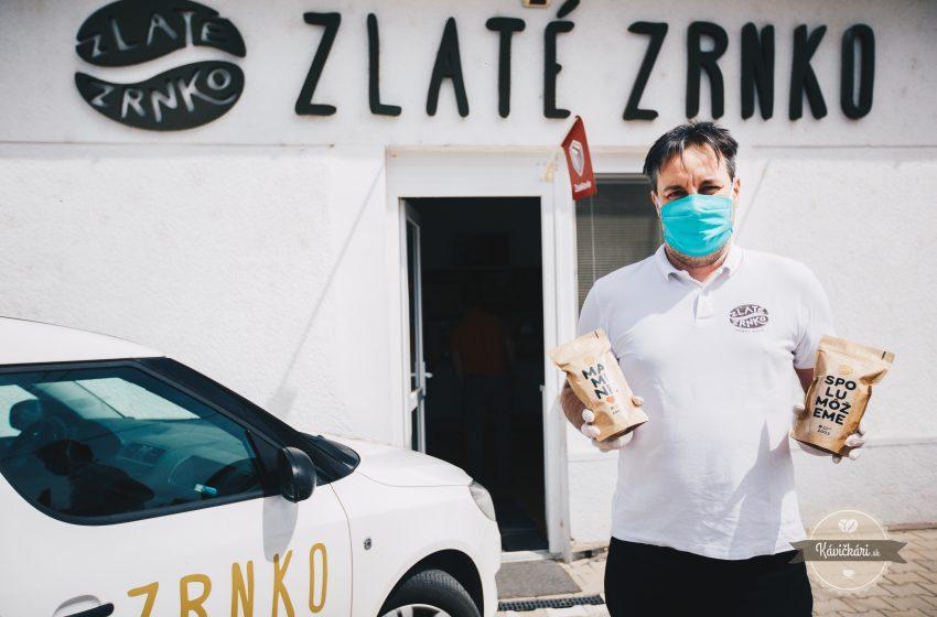 """Václav Faltus zo Zlatého Zrnka: """"Personalizované kávy ochránili Zlaté Zrnko pred koronakrízou"""""""