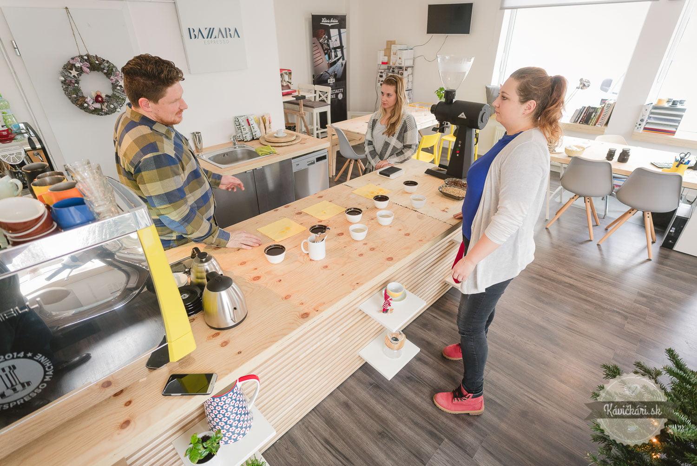 Bazaar academy a kávičkári