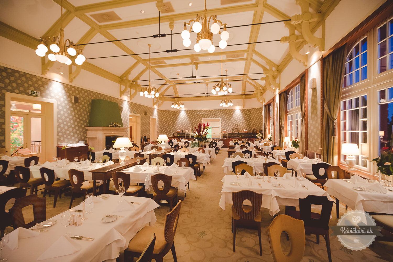 Kempinski jedáleň