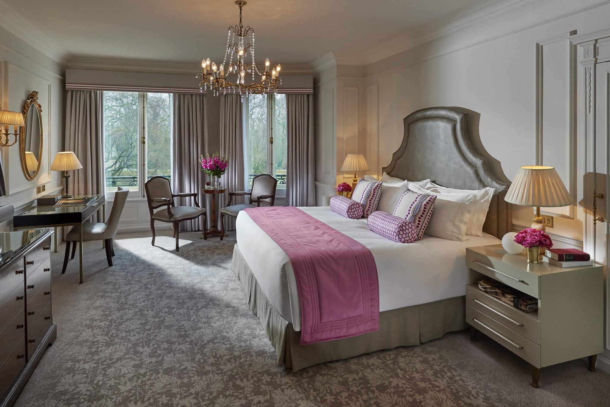 Bedroom Londýn Mandarin Oriental