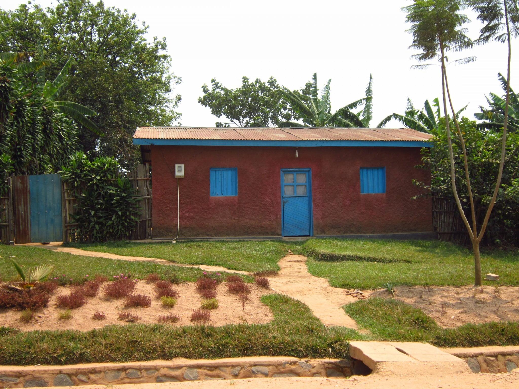 Rwanda plantáž