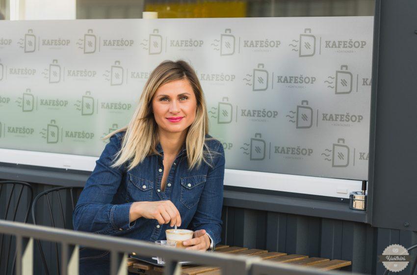 Judita Wiener: Snažíme sa návštevníkov učiť, aby si kávu dokázali vychutnávať