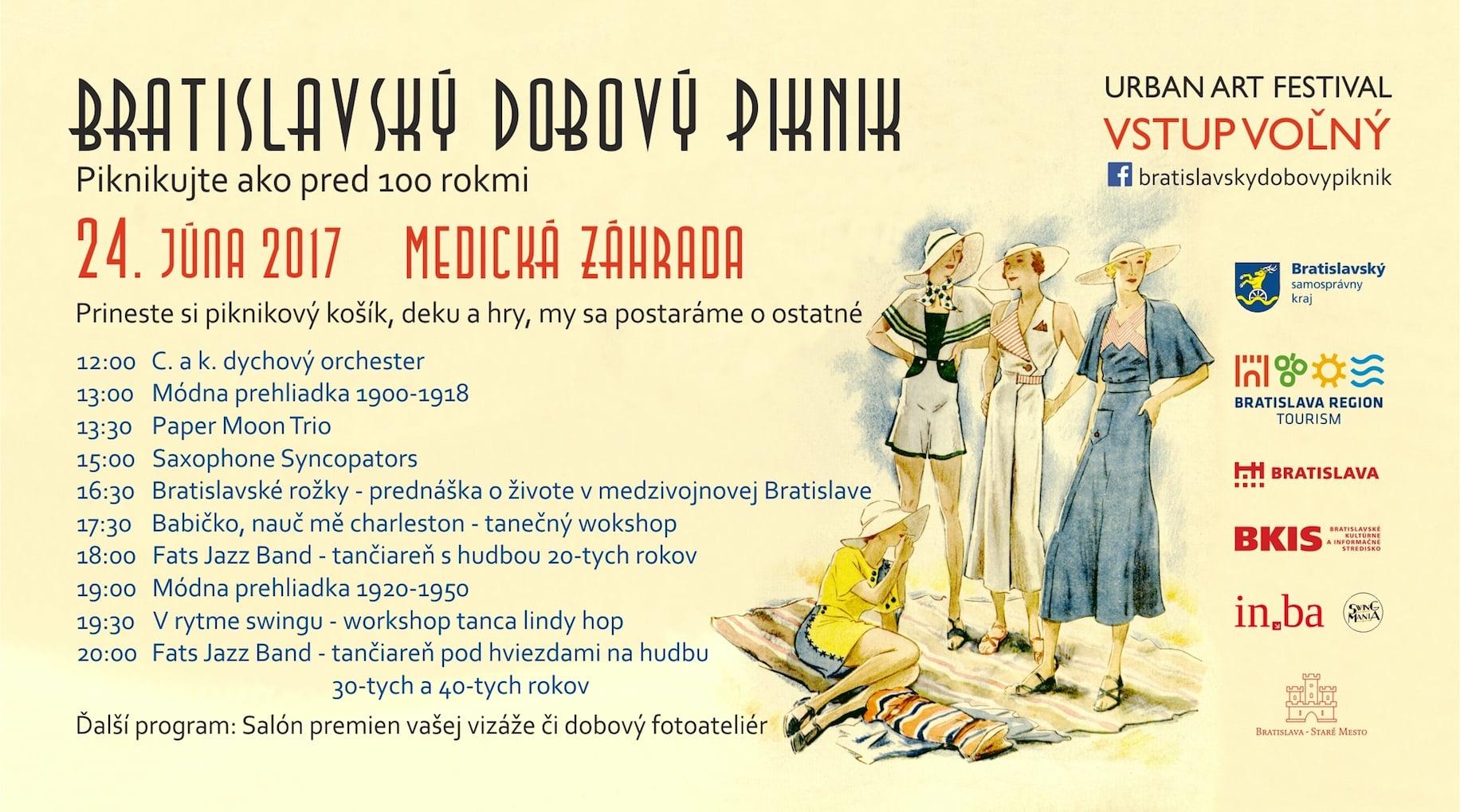 program Bratislavský dobový piknik