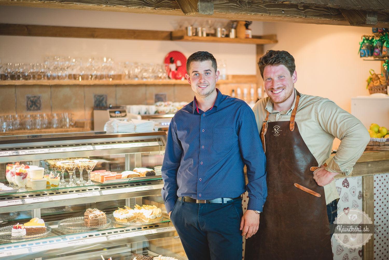 Šimon Staš v Betka´s Bakery