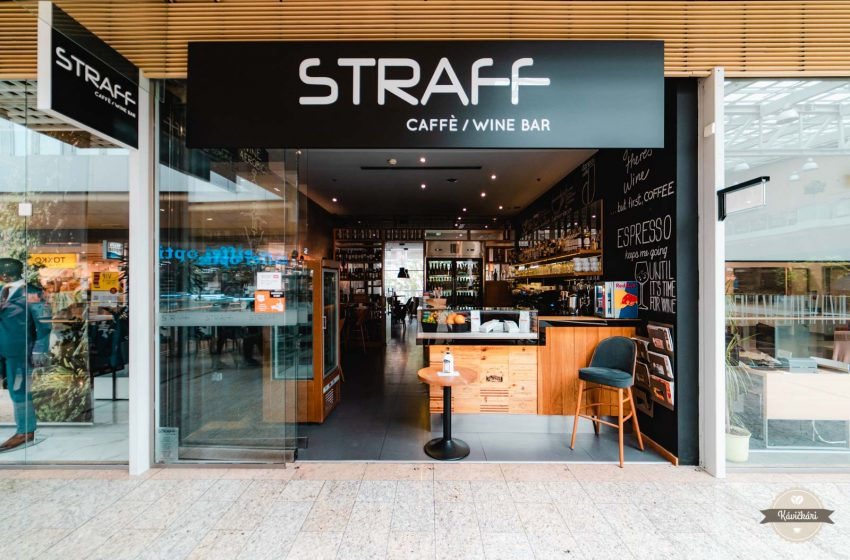 Straff Cafe & Wine Bar: Oáza osvieženia v púšti obchodov