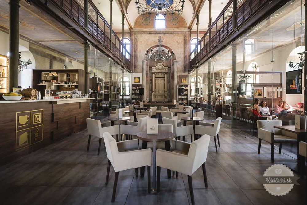 kaviareň synagoga v trnave