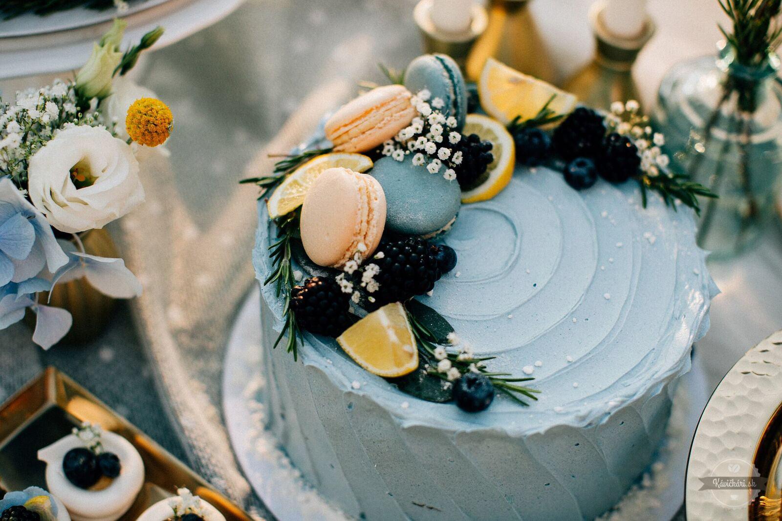 svadobná torta Marlotka