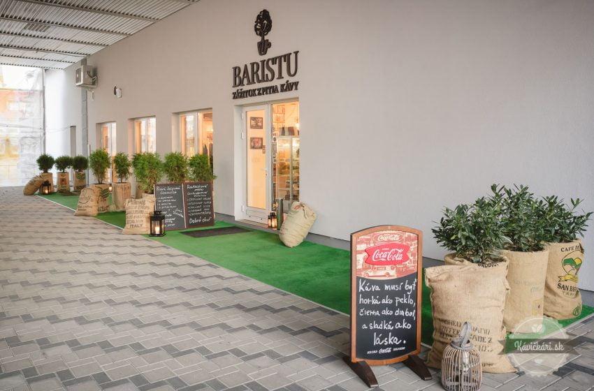 kaviareň U Baristu