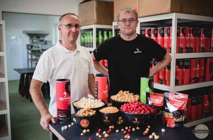 Na Slovensku vyrábame popcorn, ktorý je ojedinelý v celej strednej Európe