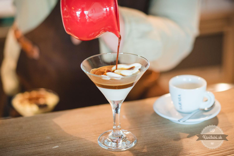 Zmrzlina s bazzara kávou v Betka´s Bakery