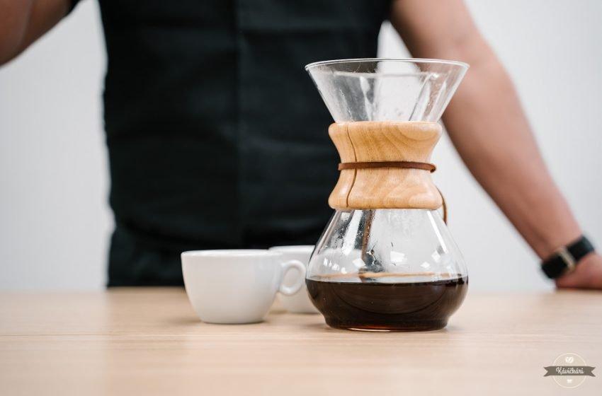 Alternatívna príprava kávy doma: Chemex – čistý dizajn aj chuť