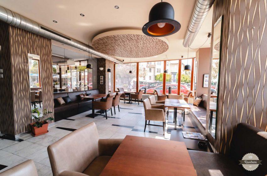 Caffe Eden v Piešťanoch: Kaviareň, kde si dáte raňajky aj o tretej poobede