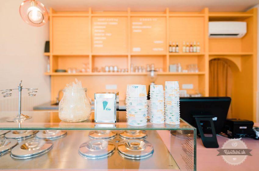 Gio Cafè Gelato Italiano v Trnave